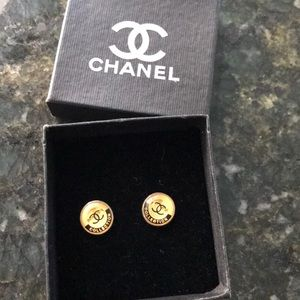 Chanel vintage erring from antique store